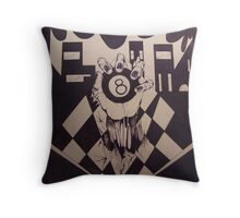 8Ball Throw Pillow