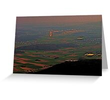 Zurich Airport ILS 14 Greeting Card