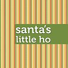 Santa's Little Ho by Faizan Qureshi