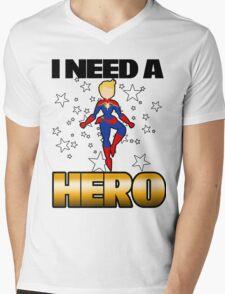 I Need a Captain Mens V-Neck T-Shirt