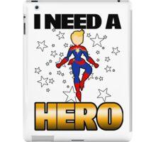 I Need a Captain iPad Case/Skin