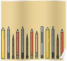 Pencils! Poster