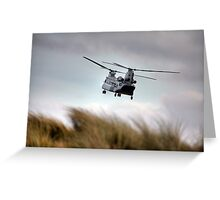 The Boeing-Vertol CH-47 Chinook Greeting Card