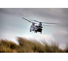 The Boeing-Vertol CH-47 Chinook Photographic Print