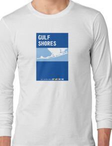 Gulf Shores - Alabama. Long Sleeve T-Shirt