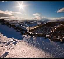 Winter views over Conistone by Shaun Whiteman