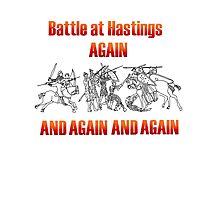 Battle of Hastings Annual Re-enactment II Photographic Print