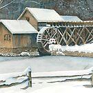 Mabry Mill Winter by jwwalker