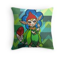Minish cap Throw Pillow