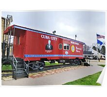 Presidential Caboose Poster