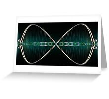 Mathematical Infinity Greeting Card