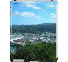 a vast Saint Vincent and the Grenadines landscape iPad Case/Skin