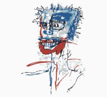 Head of Madame by basquiat