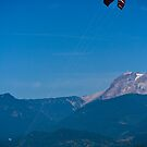 Kite Surfing at Squamish by Tristan Rayner