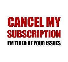Cancel Subscription Issues by AmazingMart