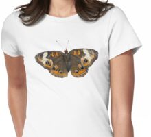 Butterfly Womens Fitted T-Shirt