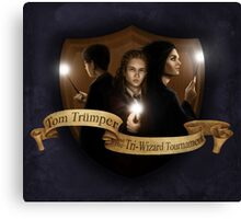 Tom Trumper and the Triwizard Tournament Canvas Print