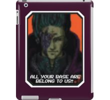 ALL YOUR BASE ARE BELONG TO US iPad Case/Skin