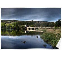 The old bridge over Llyn Padarn Poster