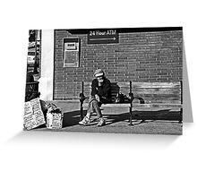 Flagstaff Street Scene Greeting Card