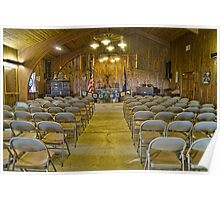 Cathedral of the Pines indoor Chapel Poster