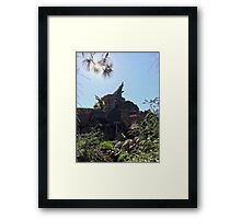 Disneyland Splash Mountain  Framed Print