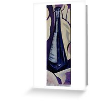Blue Bottle #2 Greeting Card