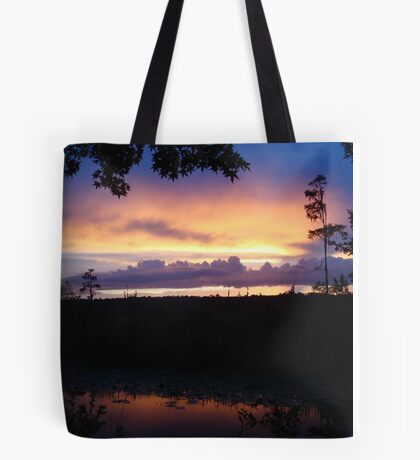When the deep purple falls...June 1, 2015 Tote Bag