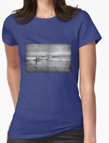 Early Morning Surf Womens Fitted T-Shirt
