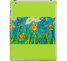Sunlit Summer Field iPad Case/Skin