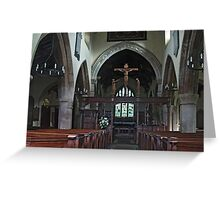 St. Wilfred, Burnsall Greeting Card