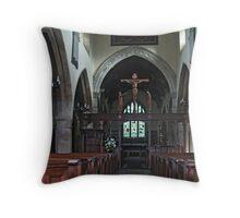 St. Wilfred, Burnsall Throw Pillow