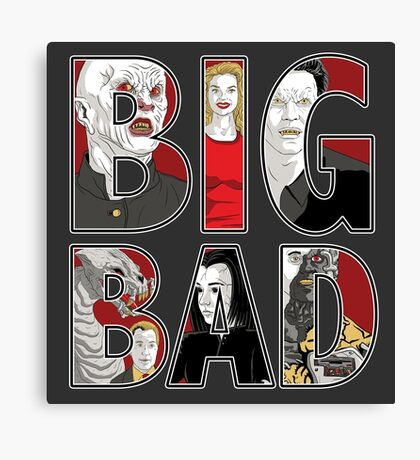 Buffy the Vampire Slayer - BIG BAD Variant Canvas Print
