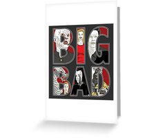 Buffy the Vampire Slayer - BIG BAD Variant Greeting Card