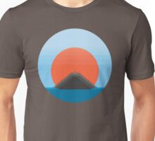 Symmetric Mountains by Jeppe K Ringsted Unisex T-Shirt
