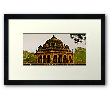 North India - Humayun's Courtier's tomb Framed Print