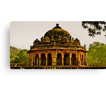 North India - Humayun's Courtier's tomb Canvas Print