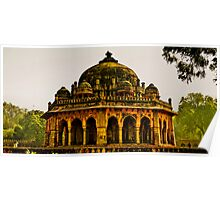 North India - Humayun's Courtier's tomb Poster