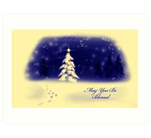 May You Be Blessed Art Print