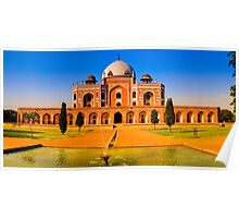 North India - Humayun's  tomb - New Delhi Poster