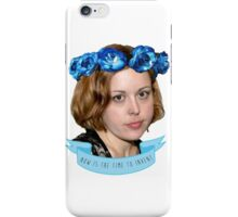 corin tucker - now is the time to invent!!!!!! iPhone Case/Skin