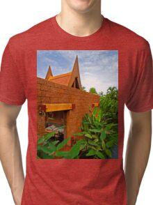 an incredible Thailand  landscape Tri-blend T-Shirt