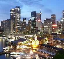 Sydney CBD by rharvey