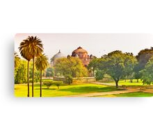 North India - Humayun's  tomb - New Delhi 4 Canvas Print