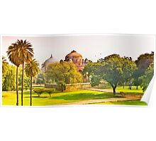 North India - Humayun's  tomb - New Delhi 4 Poster