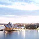 Sydney Opera House At Sunrise by rharvey