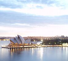 Sydney Opera House At Sunrise by rharvey