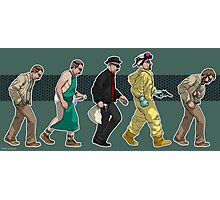 The Evolution of Walter White- Background Photographic Print