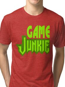 Game Junkie Tri-blend T-Shirt