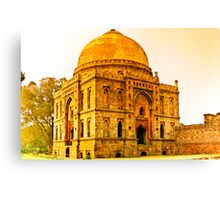 North India - Lodhi Gardens - New Delhi Canvas Print